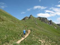 Randonnée à pied vers le Puy de Sancy