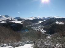 Le Mont-Dore et le Massif du Sancy en hiver