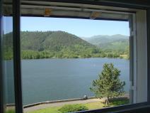 vue du 3éme étage vue sur le lac mansarde hotel bellevue