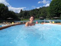 Bain bouillonnant piscine Camping Singles